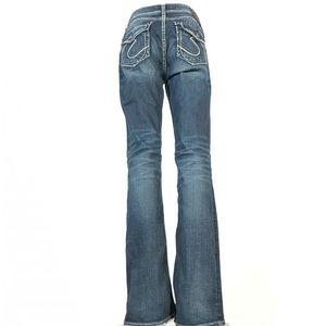"""Silver suki flap 17"""" Jeans 29x35"""